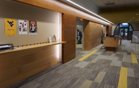 The former faculty lounge areas are now the Guidance Offices.