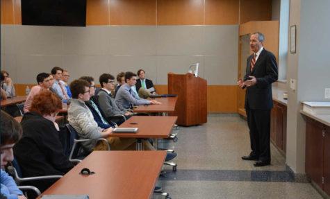 Baginski Scholars during lecture