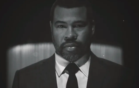 Jordan Peele, hosting The Twilight Zone. Image: CBS